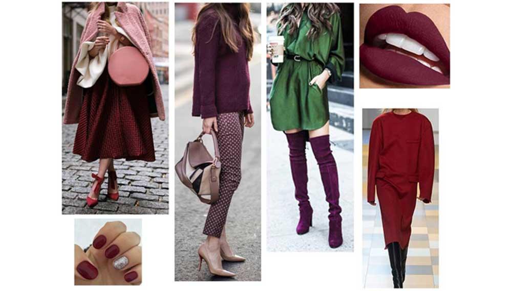 7b34265ad4 Jak nosit vínovou (burgund) barvu  - Magazín módy pro muže a ženy ...