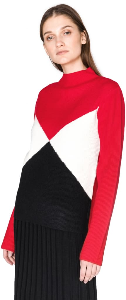 svetr a módní vrstvení oblečení