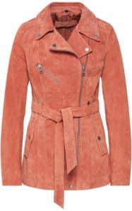 dámská kožená bunda na jaro